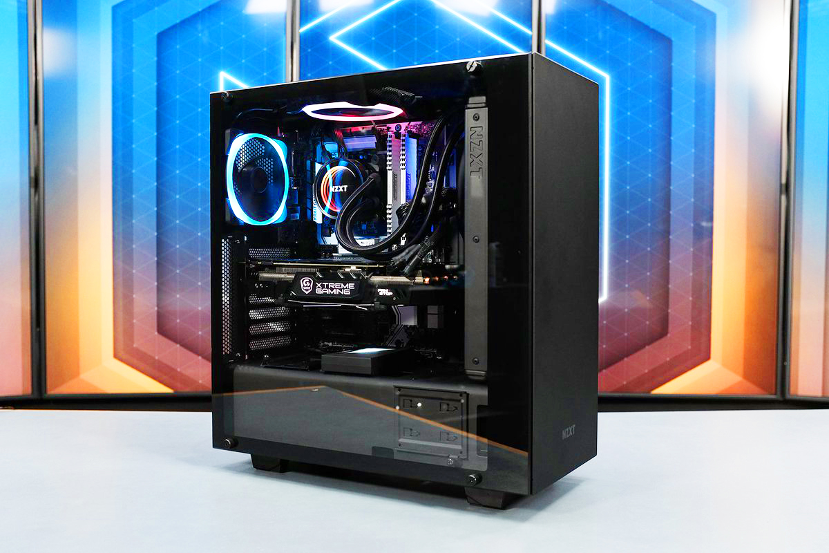 Ryzen 7 2700X Gaming and Video Editing PC Build