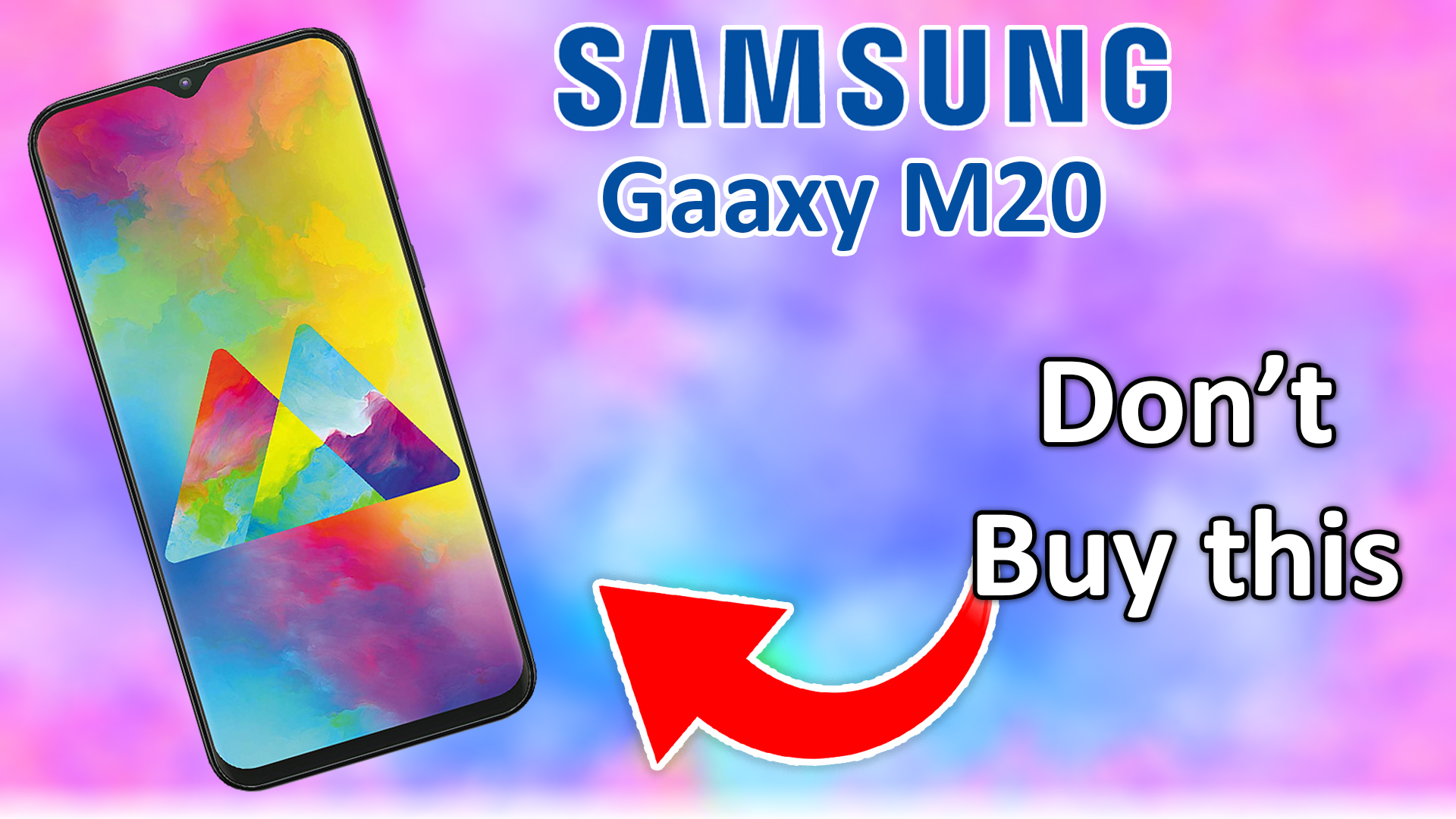 Top 5 things you can't consider on Samsung galaxy M20