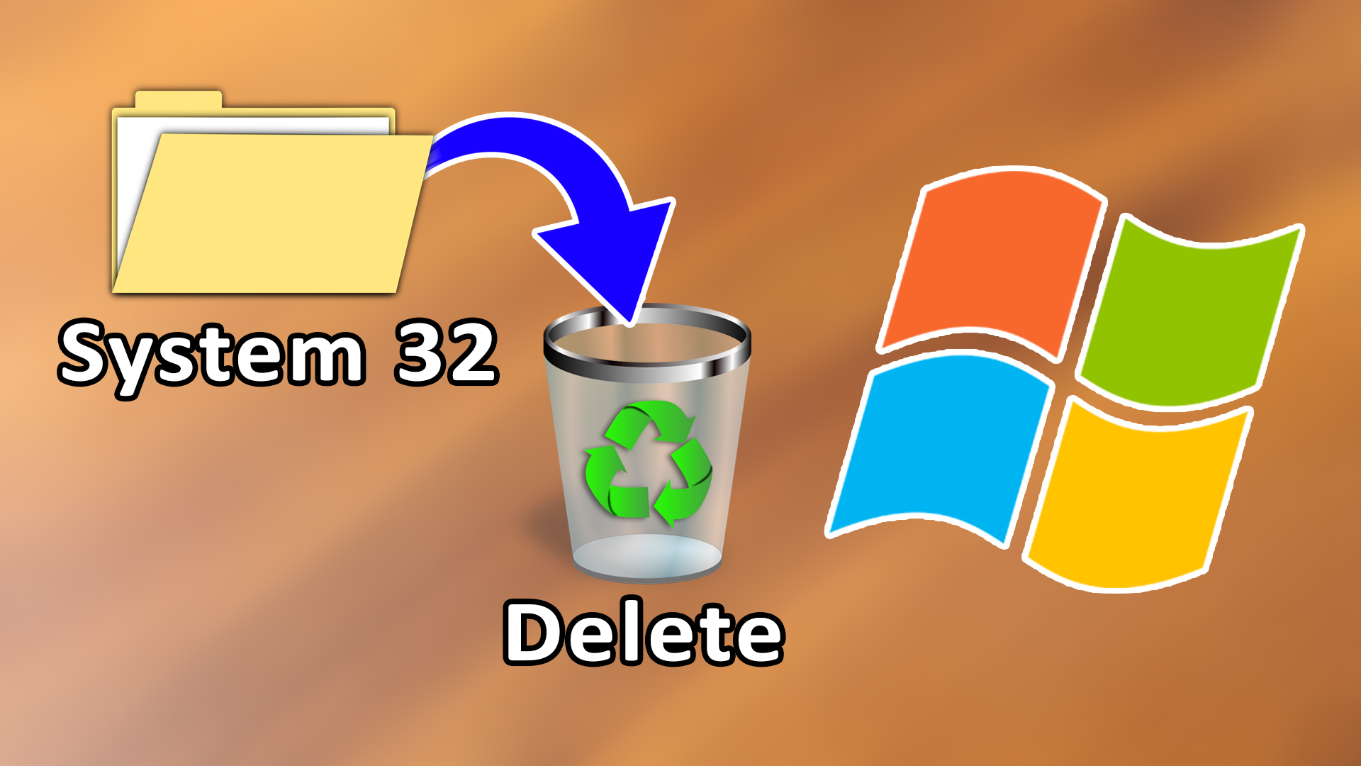 What exactly Happens If We Delete System 32 From Our Computer?