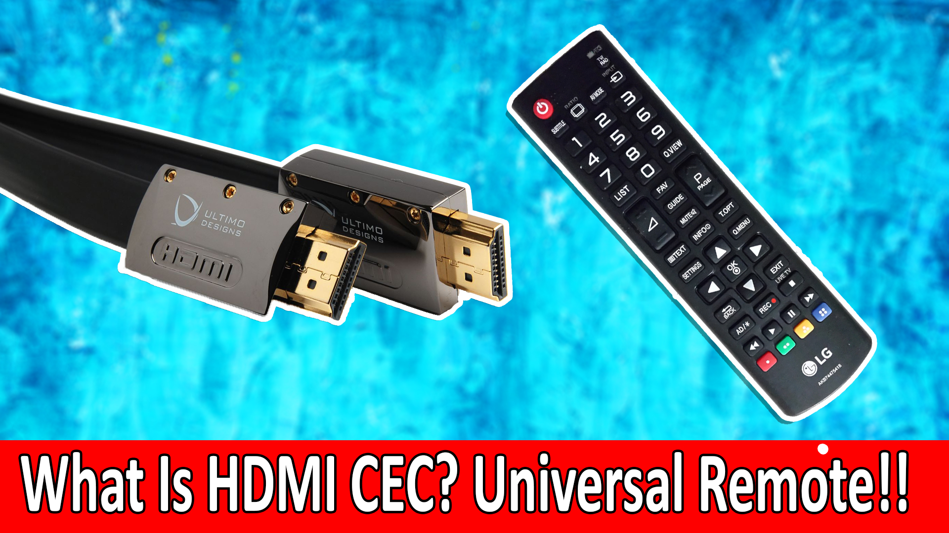 What is HDMI With CEC? HDMI-CEC Explained