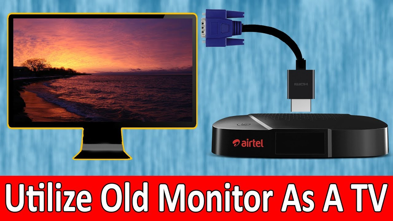 Can I Use Computer Monitor as a TV?