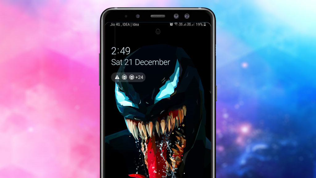 Use black wallpapers to Increase Battery Life on Android Phones