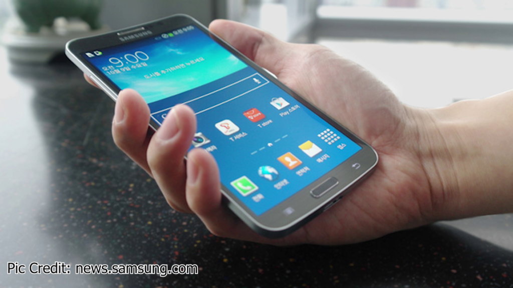 Samsung Galaxy Round is the second Curved Screen Phone