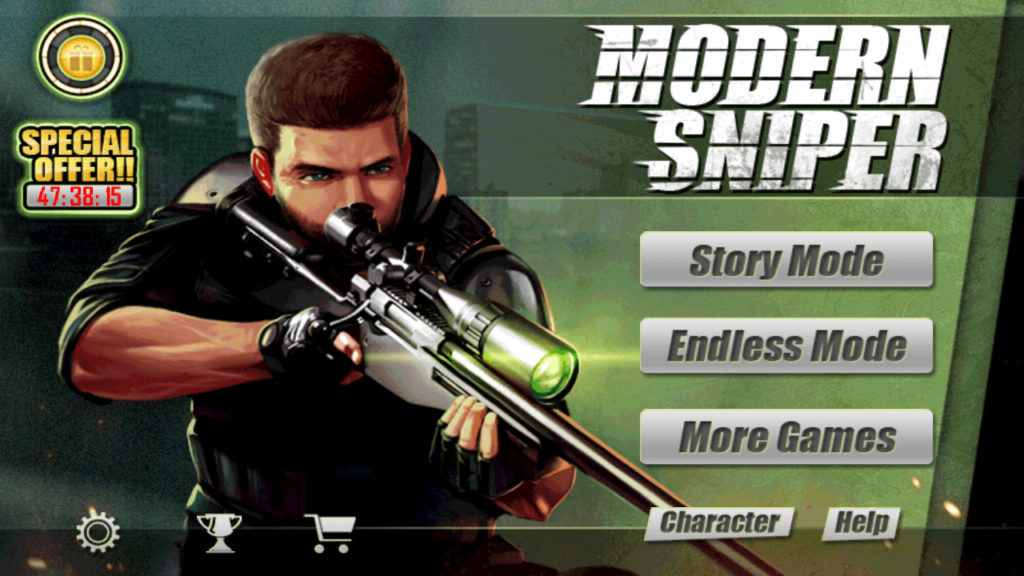 In only 8.9MB size Modern Sniper is awesome