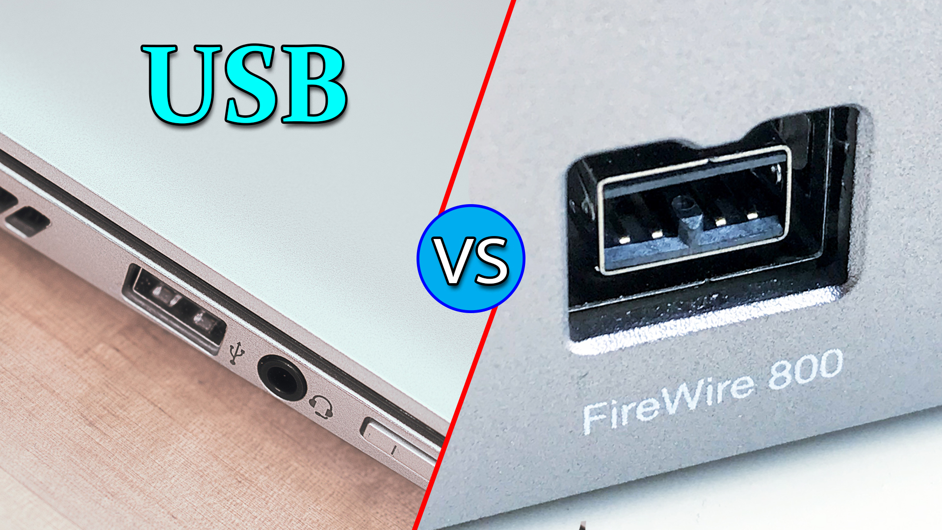 USB Vs FireWire: What are the differences?
