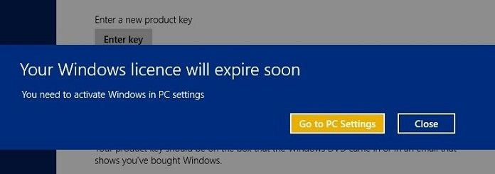If you never activate windows 8 then this annoying thing will happen to you