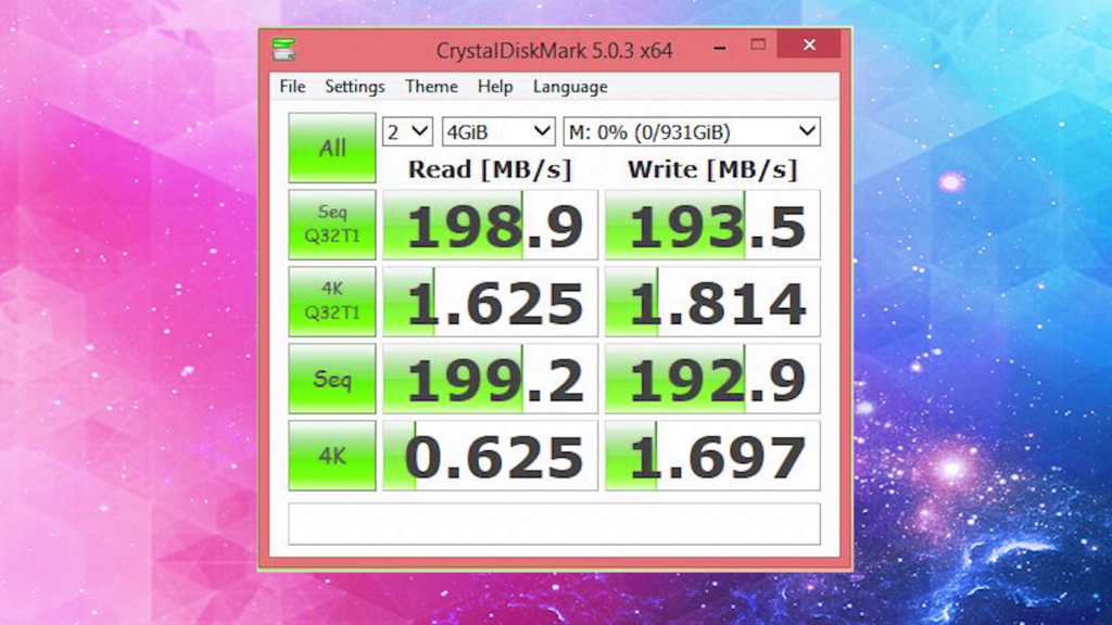 Hard Drive speed is a sign of HDD failure