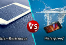 Difference between Water-resistant and Waterproof