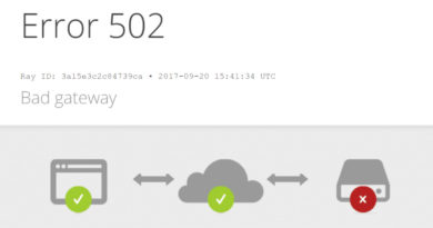[Solved] 502 Error in two Minutes!