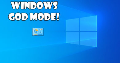 Windows God Mode! How to Enable & Use?