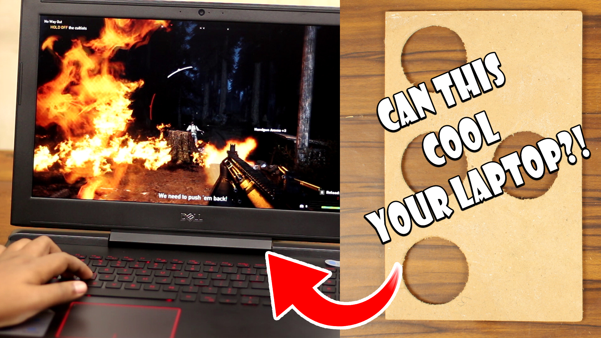How to Cool Laptop Properly? Let's Create a Simple Back Cover!