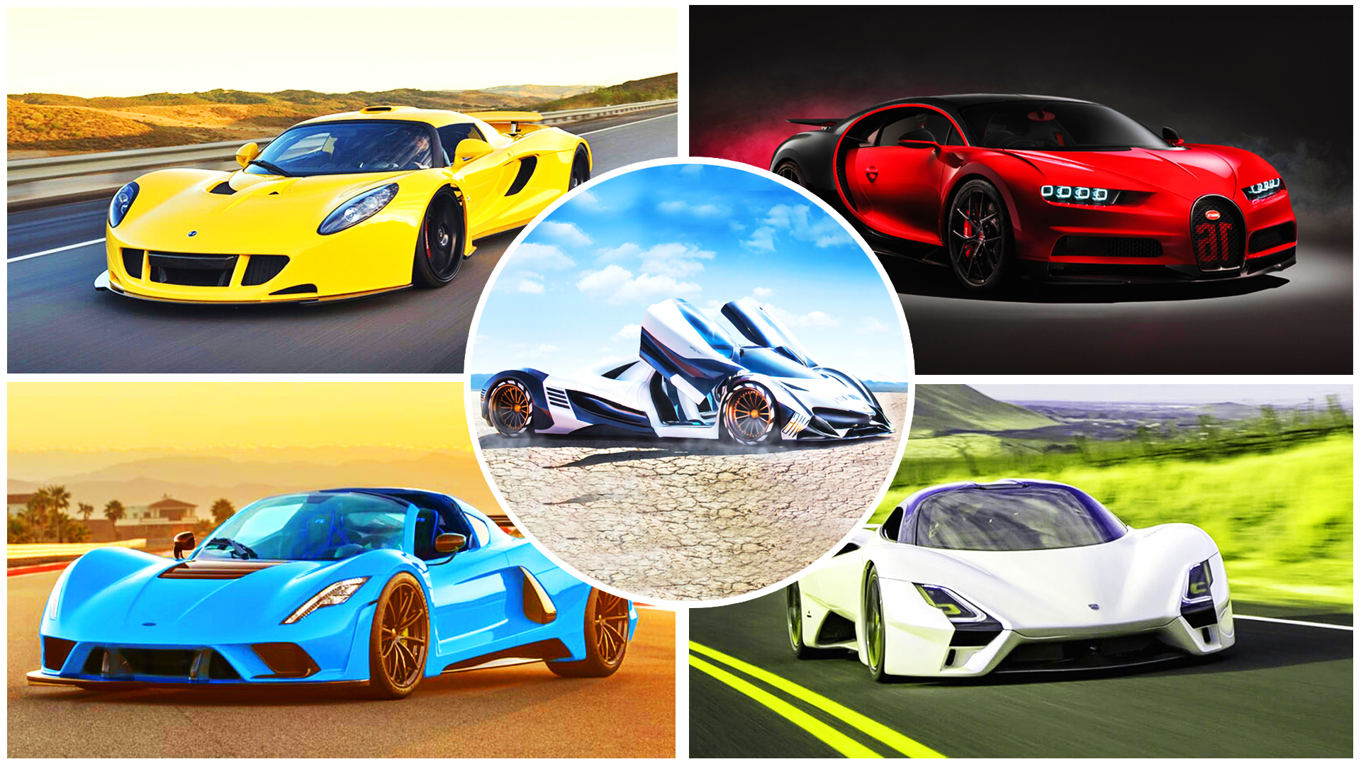 [Top 10] Fastest Cars in The World!