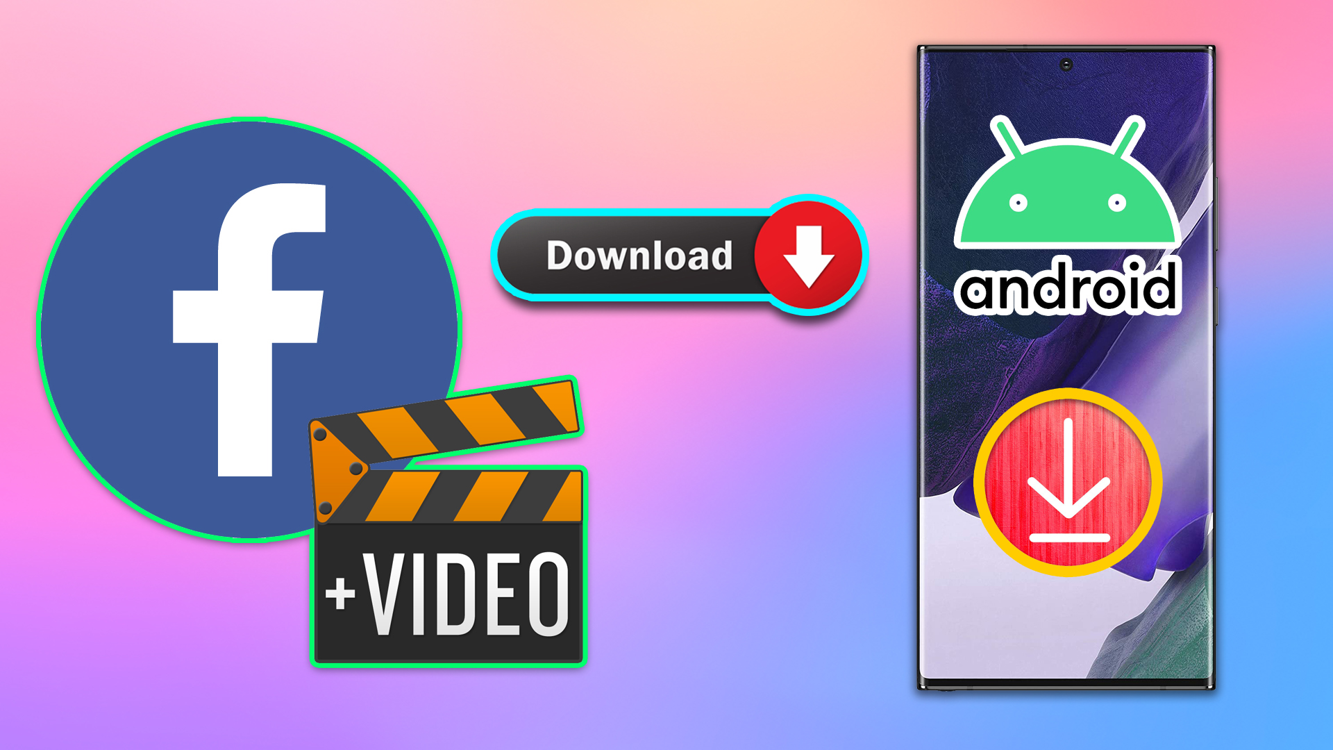 How to Download Facebook Videos On Android?!
