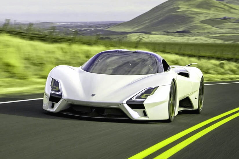 SSC Tuatara posses 6.9 L SSC Twin-turbocharged V8 Engine. Which approves it in the Fastest Cars in The World list.