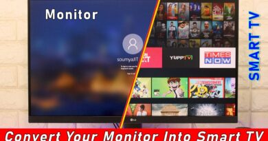 Use Your Monitor As A Smart TV! Easy Steps To Do!