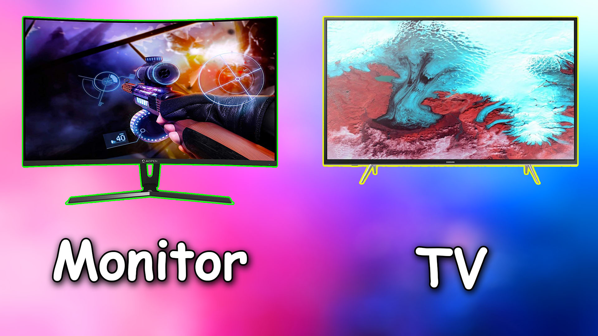 TV Vs Monitor: Which One Should Be Picked?