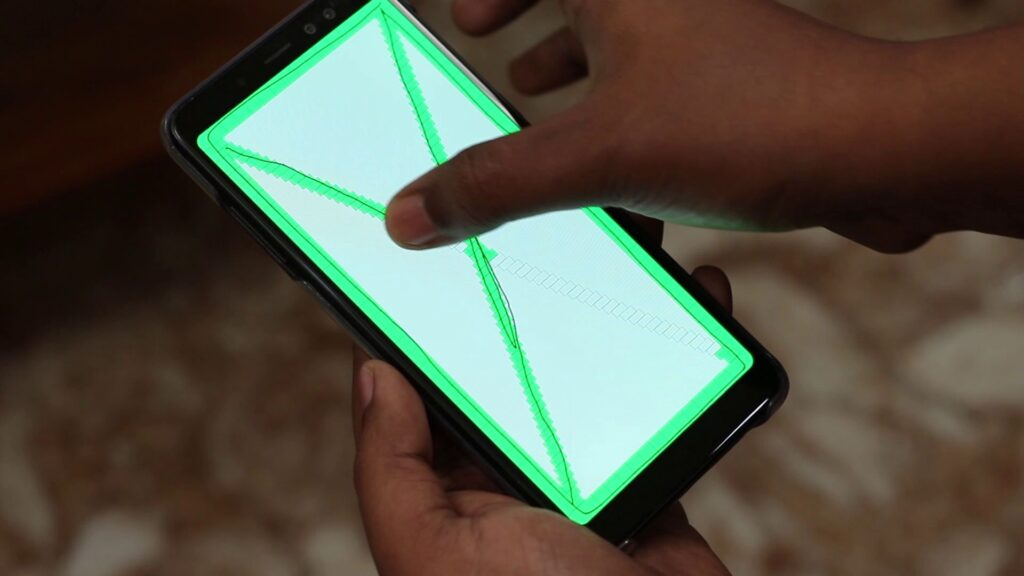 How to test Smart Phone's Touch?