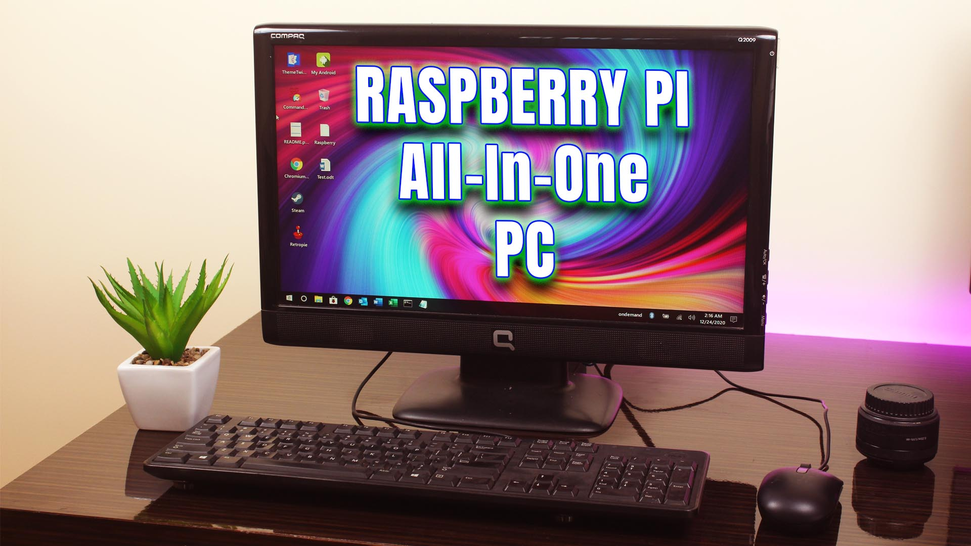 Building a Powerful PC Using Raspberry Pi 4