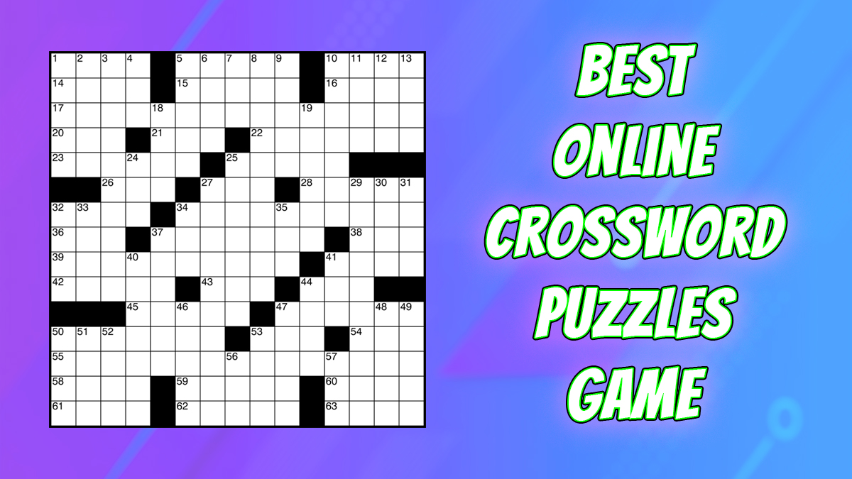 Best Online Crossword Puzzles You Should Play!