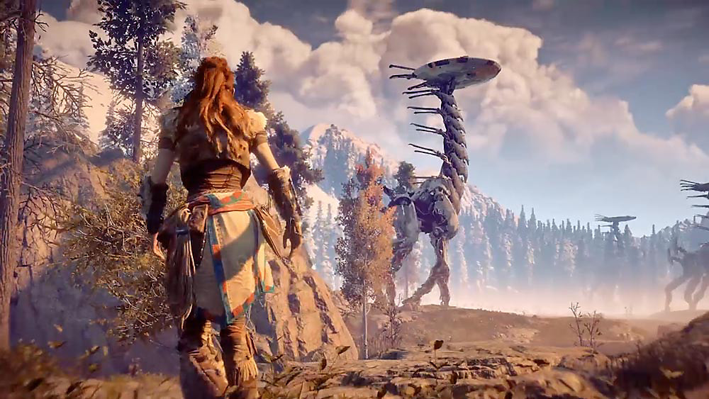 Horizon Zero Dawn, in terms of graphics this is the finest game I have ever seen so how can I ignore it to include on the best games on PS4 list.