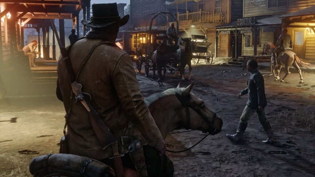 Red Dead Redemption 2 which is considered as one of the top PS4 games.