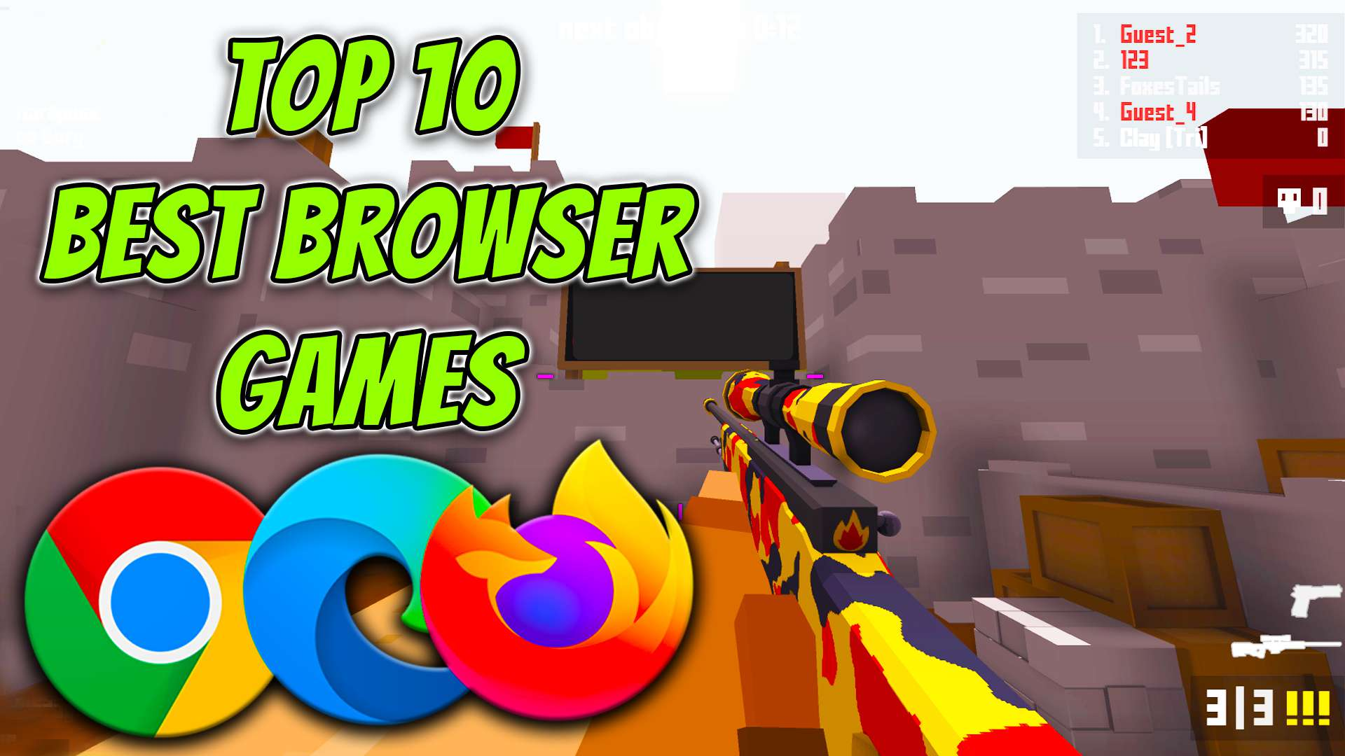 Top 10 Best Browser Games You Should Try!