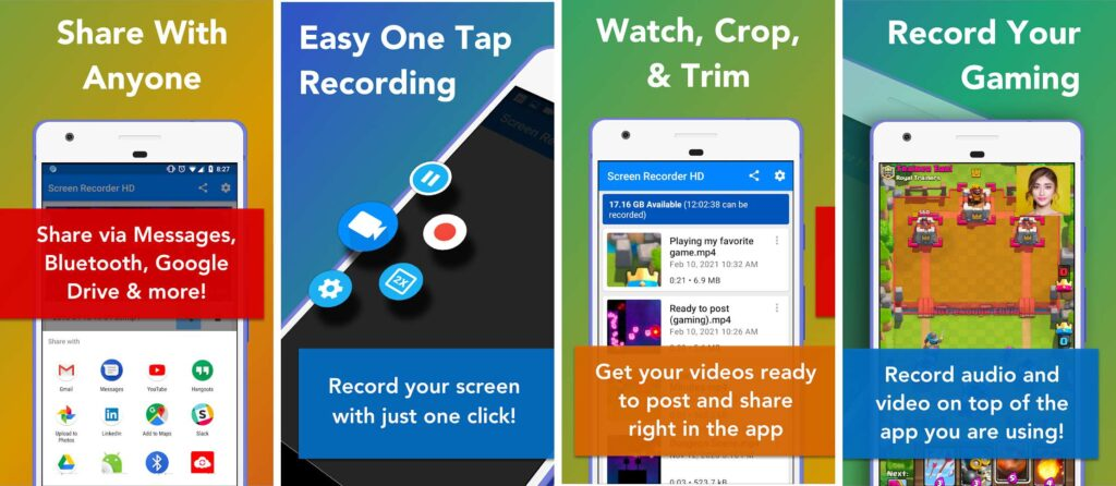 Screen Recorder- Record with Facecam And Audio