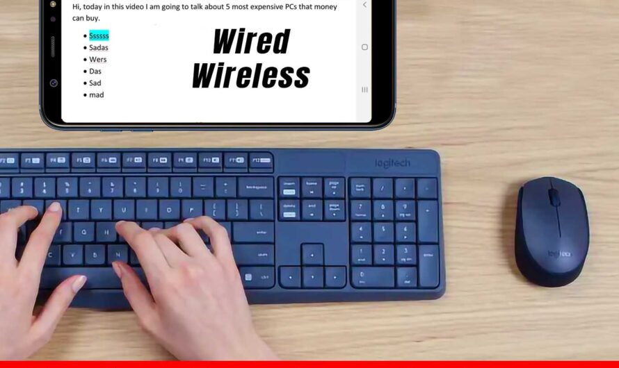 How to Connect a Keyboard & Mouse With Your Android Phone!