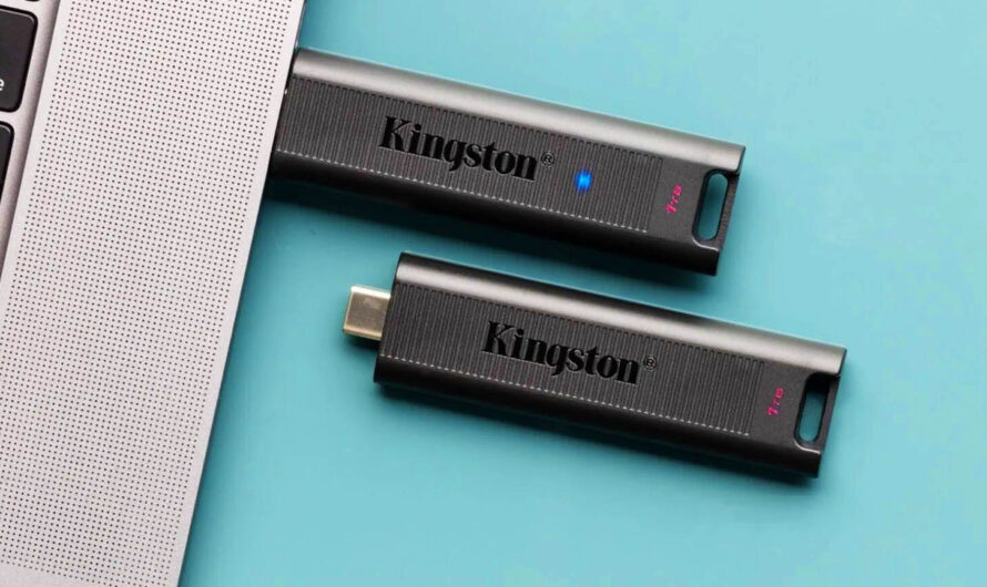 Type-C Pendrive Kingston DataTraveler Max Reaches 900MB/s! Our Review